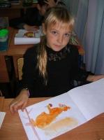 На уроке изобразительного искусства